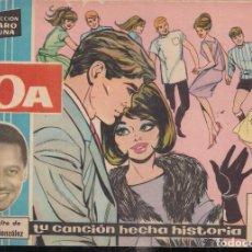 Tebeos: CLARO DE LUNA Nº 129: LA BOA. GRAN EXITO DE LORENZO GONZÁLEZ. Lote 241415670