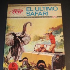 Tebeos: LEOPARDO (1970, TORAY) 5 · 1970 · EL ÚLTIMO SAFARI. Lote 241481295