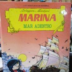 Tebeos: LAS AVENTURAS DE MARINA/MARINA MAR ADENTRO-CARTEGGIANI/TRANCHAND-EDITA TORAY 1987,N°2. Lote 242479975
