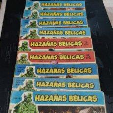 Tebeos: LOTE COMICS HAZAÑAS BÉLICAS ORIGINALES. Lote 243003490