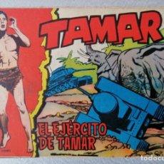 Tebeos: TAMAR Nº 115 - EL EJERCITO DE TAMAR - ORIGINAL - TORAY 1961. Lote 243024400