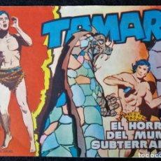 Tebeos: TAMAR Nº 55 - EL HORROR DLE MUNDO SUBTERRANEO - ORIGINAL - TORAY 1961. Lote 243026200