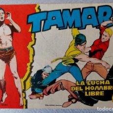 Tebeos: TAMAR Nº 32 - LA LUCHA DEL HOMBRE LIBRE - ORIGINAL - TORAY 1961. Lote 243026755