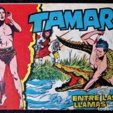 Tebeos: TAMAR Nº 10 - ENTRE LAS LLAMAS - ORIGINAL - TORAY 1961. Lote 243028210