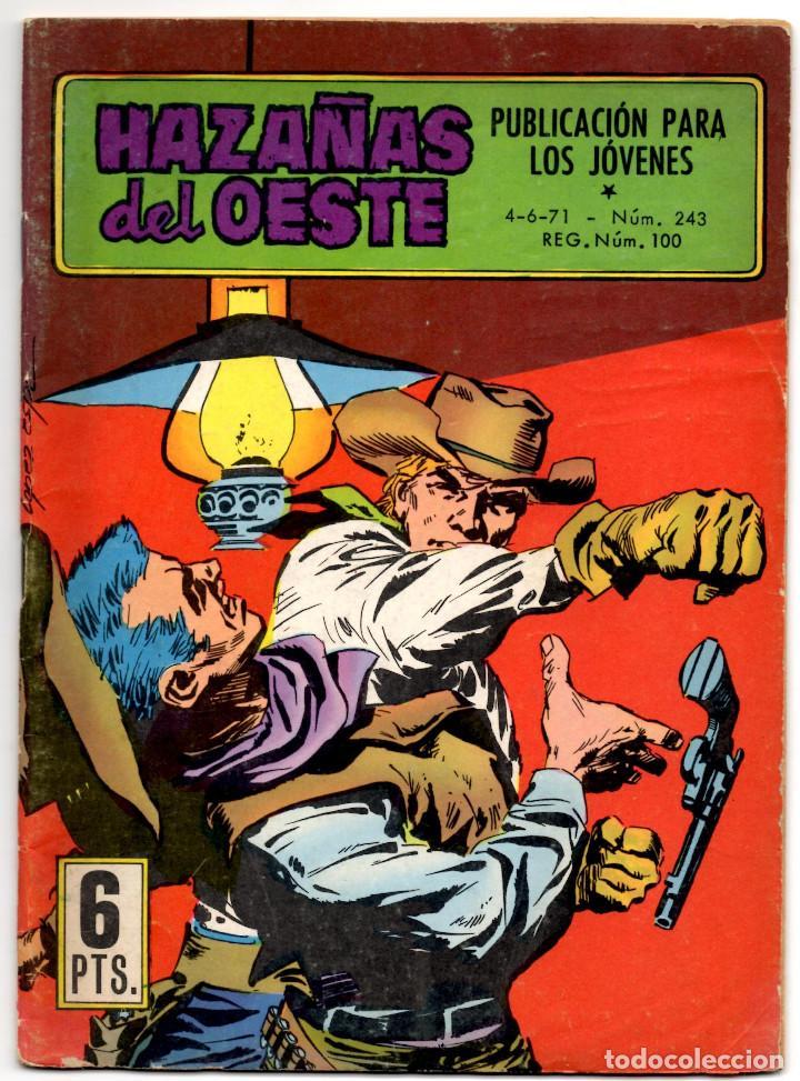 HAZAÑAS DEL OESTE Nº 243 (TORAY 1971) (Tebeos y Comics - Toray - Hazañas del Oeste)