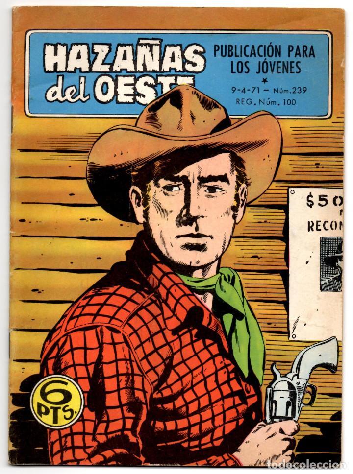 HAZAÑAS DEL OESTE Nº 239 (TORAY 1971) (Tebeos y Comics - Toray - Hazañas del Oeste)