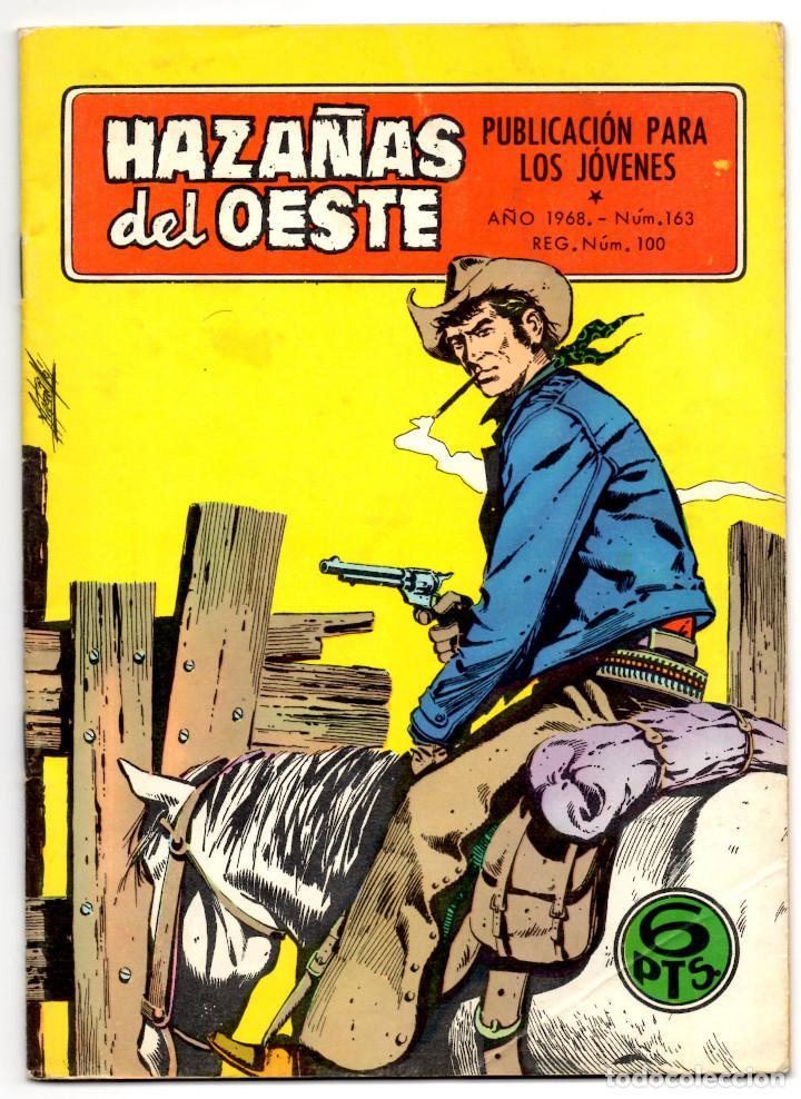 HAZAÑAS DEL OESTE Nº 163 (TORAY 1968) (Tebeos y Comics - Toray - Hazañas del Oeste)
