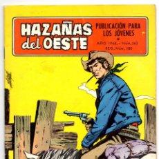 Tebeos: HAZAÑAS DEL OESTE Nº 163 (TORAY 1968). Lote 243133625