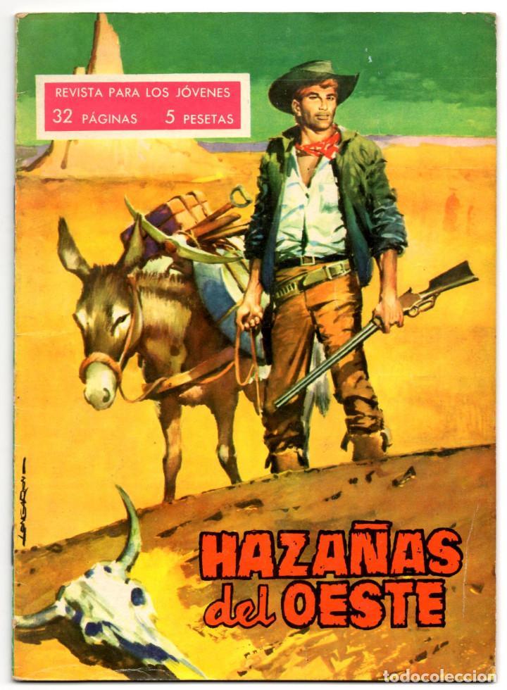 HAZAÑAS DEL OESTE Nº 35 (TORAY 1963) (Tebeos y Comics - Toray - Hazañas del Oeste)