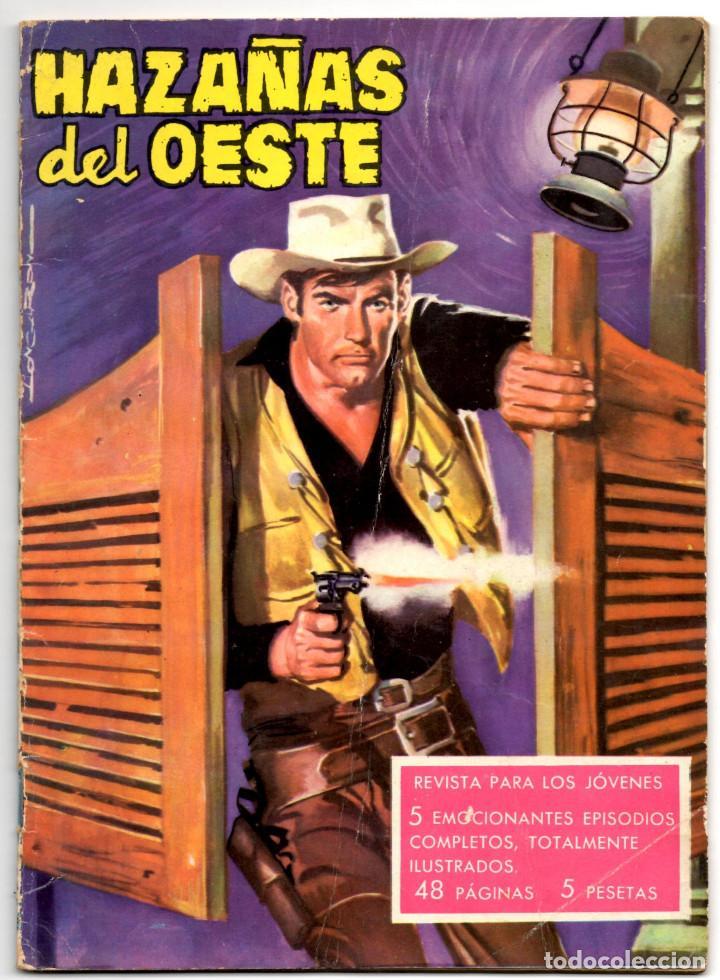 HAZAÑAS DEL OESTE Nº 24 (TORAY 1963) (Tebeos y Comics - Toray - Hazañas del Oeste)