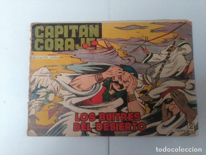 CAPITÁN CORAJE Nº14 (Tebeos y Comics - Toray - Otros)