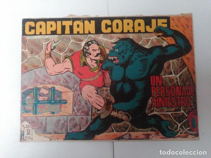 CAPITÁN CORAJE Nº27 (Tebeos y Comics - Toray - Otros)
