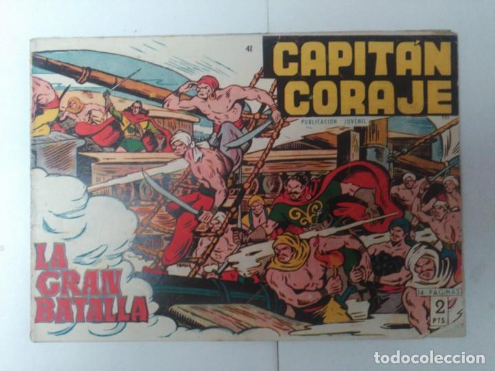CAPITÁN CORAJE Nº41 (Tebeos y Comics - Toray - Otros)