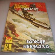 Tebeos: HAZAÑAS BÉLICAS. SANGRE HERMANA.# 16. (G4 EDICIONES) 1987.. Lote 243313005