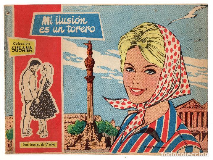 COLECCION SUSANA Nº 20 (TORAY 1959) (Tebeos y Comics - Toray - Susana)