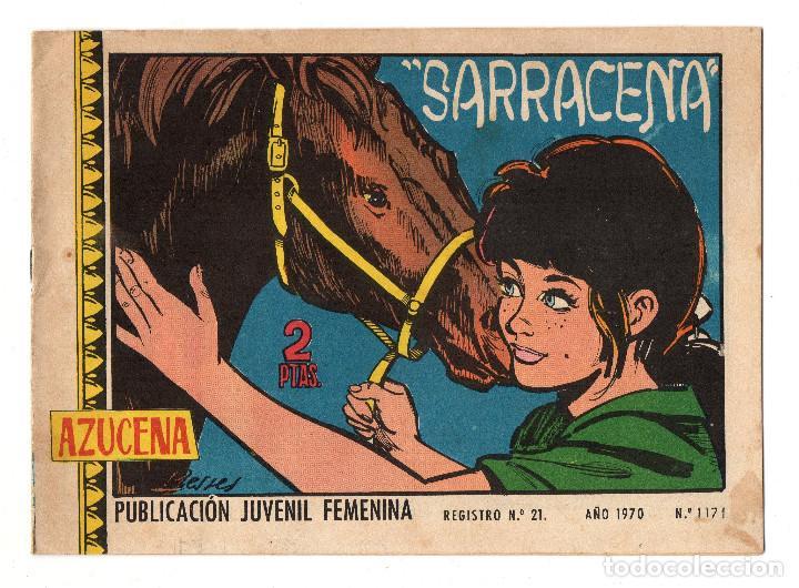 AZUCENA Nº 1171 (TORAY 1970) (Tebeos y Comics - Toray - Azucena)