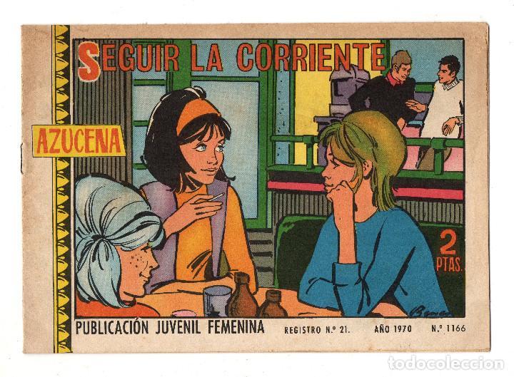 AZUCENA Nº 1166 (TORAY 1970) (Tebeos y Comics - Toray - Azucena)