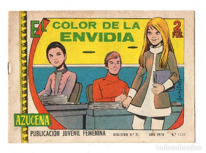 AZUCENA Nº 1151 (TORAY 1970) (Tebeos y Comics - Toray - Azucena)