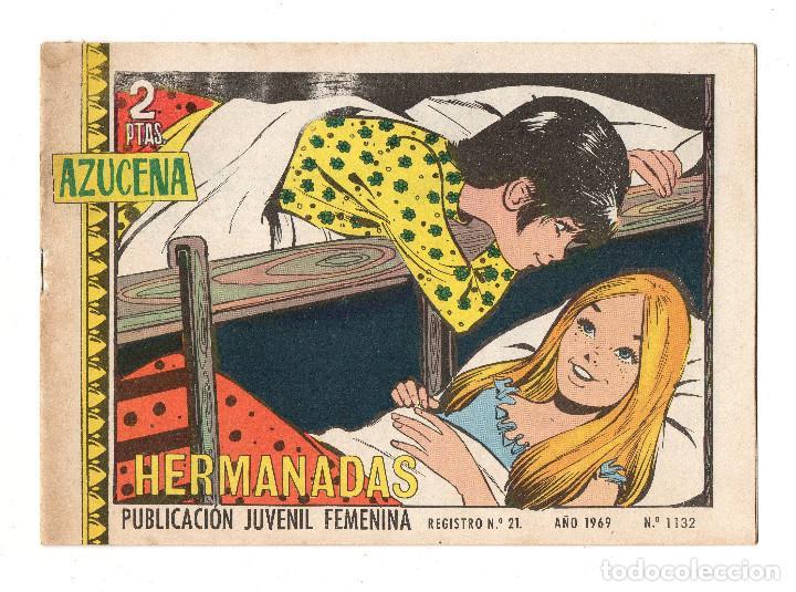 AZUCENA Nº 1132 (TORAY 1969) (Tebeos y Comics - Toray - Azucena)
