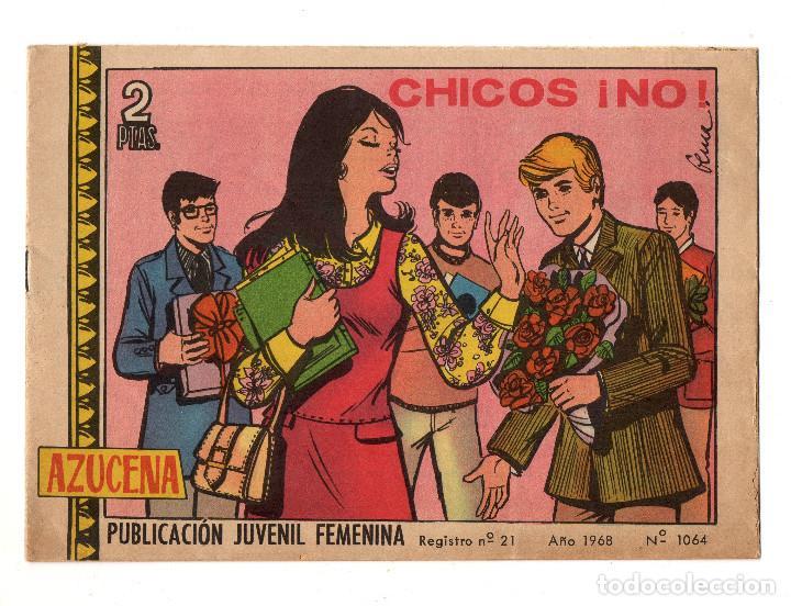 AZUCENA Nº 1064 (TORAY 1968) (Tebeos y Comics - Toray - Azucena)