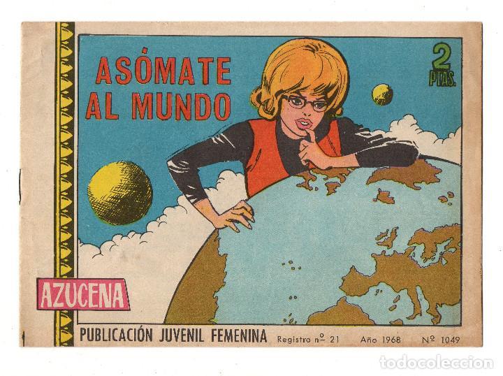 AZUCENA Nº 1049 (TORAY 1968) (Tebeos y Comics - Toray - Azucena)