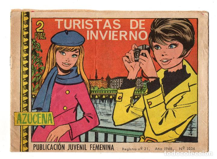 AZUCENA Nº 1034 (TORAY 1968) (Tebeos y Comics - Toray - Azucena)