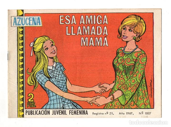AZUCENA Nº 1027 (TORAY 1967) (Tebeos y Comics - Toray - Azucena)