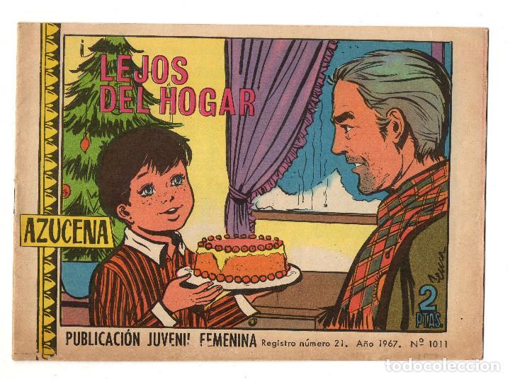 AZUCENA Nº 1011 (TORAY 1967) (Tebeos y Comics - Toray - Azucena)