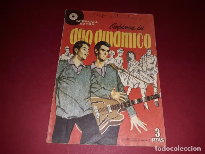 Tebeos: Serenata Extra Confidencias del Duo Dinamico Nº 1 Con Poster - Foto 2 - 243442270