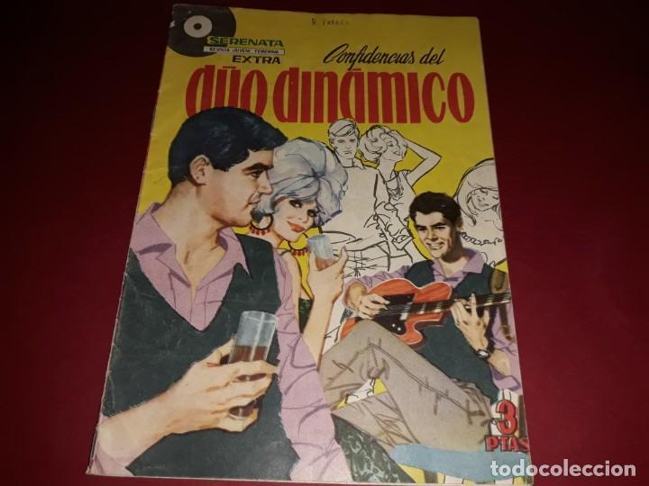 Tebeos: Serenata Extra Confidencias del Duo Dinamico Nº 2 Con Poster - Foto 2 - 243443255