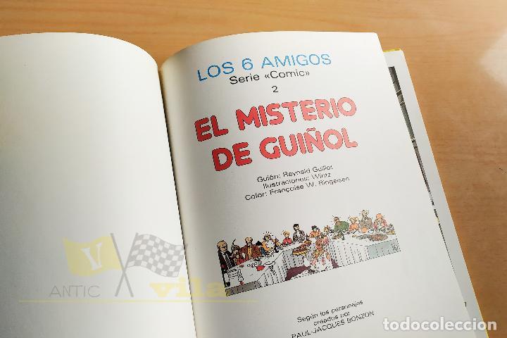 Tebeos: Los 6 amigos - El misterio del guiñol - 1985 - Foto 4 - 243776220