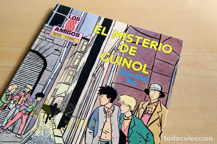 LOS 6 AMIGOS - EL MISTERIO DEL GUIÑOL - 1985 (Tebeos y Comics - Toray - Otros)