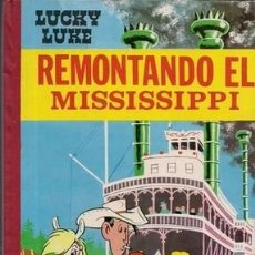 Tebeos: LUCKY LUKE, REMONTANDO EL MISSISSIPPI. Lote 243816750