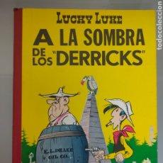 Tebeos: LUCKY LUKE 1969 1° EDICIÓN A LA SOMBRA DE LOS DERRICKS TORAY EXCELENTE. Lote 243866950
