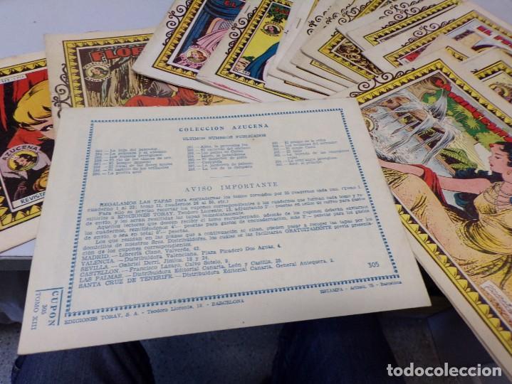 Tebeos: lote 15 tebeos cuentos coleccion azucena en buen estado toray - Foto 4 - 243981665