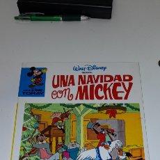 Tebeos: CINE DISNEY, Nº 20, UNA NAVIDAD CON MICKEY - EDICION 1984 TAPA DURA,. Lote 244004535