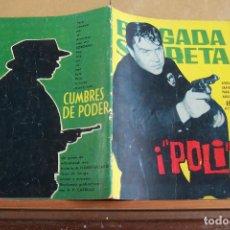 Tebeos: TORAY,- BRIGADA SECRETA NOVELA GRAFICA PARA ADULTOS Nº 83. Lote 244591405