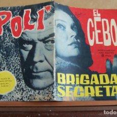 Tebeos: TORAY,- BRIGADA SECRETA NOVELA GRAFICA PARA ADULTOS Nº 82. Lote 244591575
