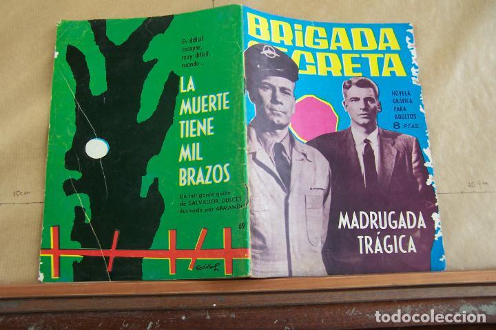 TORAY,- BRIGADA SECRETA NOVELA GRAFICA PARA ADULTOS Nº 69 (Tebeos y Comics - Toray - Brigada Secreta)