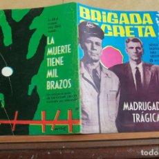 Tebeos: TORAY,- BRIGADA SECRETA NOVELA GRAFICA PARA ADULTOS Nº 69. Lote 244592920