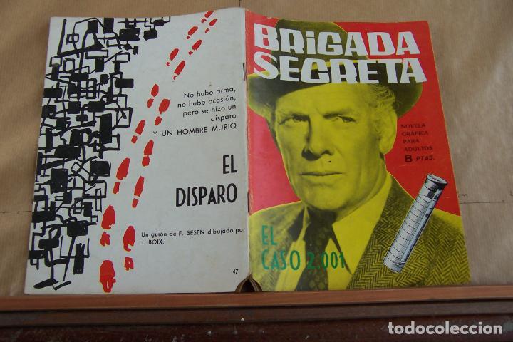 TORAY,- BRIGADA SECRETA NOVELA GRAFICA PARA ADULTOS Nº 47 (Tebeos y Comics - Toray - Brigada Secreta)