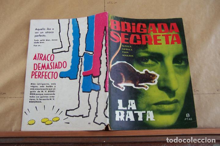 TORAY,- BRIGADA SECRETA NOVELA GRAFICA PARA ADULTOS Nº 44 (Tebeos y Comics - Toray - Brigada Secreta)