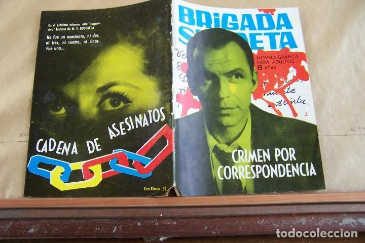 TORAY,- BRIGADA SECRETA NOVELA GRAFICA PARA ADULTOS Nº 39 (Tebeos y Comics - Toray - Brigada Secreta)
