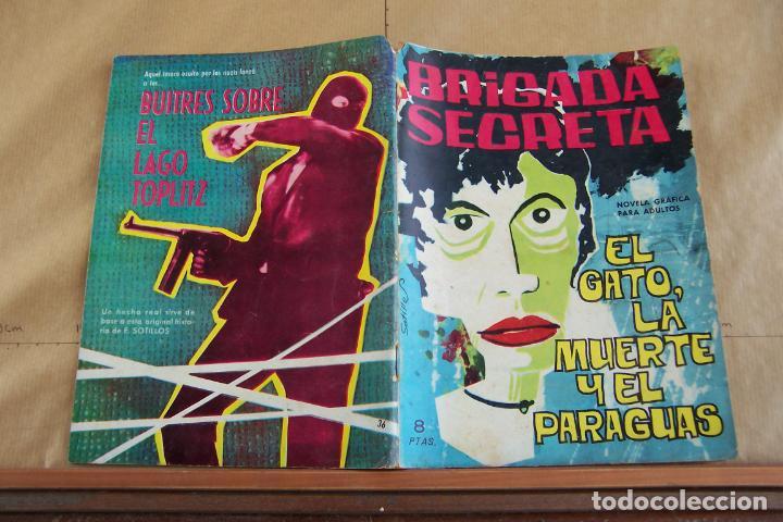 TORAY,- BRIGADA SECRETA NOVELA GRAFICA PARA ADULTOS Nº 36 (Tebeos y Comics - Toray - Brigada Secreta)