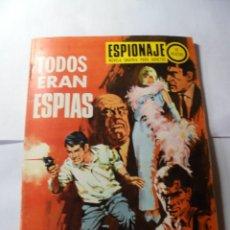 Tebeos: MAGNIFICOS ANTIGUOS 60 NUMEROS DE ESPIONAJE TORAY. Lote 244832050