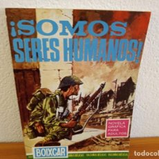 Tebeos: BOIXCAR HAZAÑAS BELICAS - Nº 51 / SOMOS SERES HUMANOS!+ 2 / EDICIONES TORAY - AÑO 1967. Lote 244912010