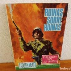 Tebeos: BOIXCAR HAZAÑAS BELICAS - Nº 84 / RUINAS SOBRE RUINAS+ 2 / EDICIONES TORAY - AÑO 1968. Lote 244914465