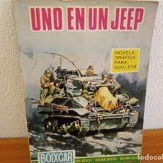 Tebeos: BOIXCAR HAZAÑAS BELICAS - Nº 33 / UNO EN UN JEEP+ 2 / EDICIONES TORAY - AÑO 1966. Lote 244916810