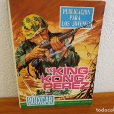 "Tebeos: BOIXCAR HAZAÑAS BELICAS - Nº 83 / ""KING KONG"" PÉREZ+ 2 / EDICIONES TORAY - AÑO 1968. Lote 244917785"