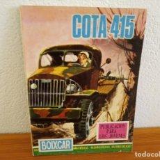 Tebeos: BOIXCAR HAZAÑAS BELICAS - Nº 73/ COTA 415 + 2 / EDICIONES TORAY - AÑO 1968. Lote 244919975